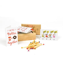 Light My Fire Matchbox Mini Love Notes Box Set
