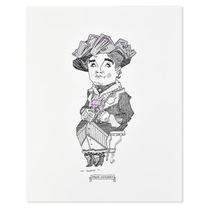 "Jane Addams 8"" x 10"" Illustrated Print"