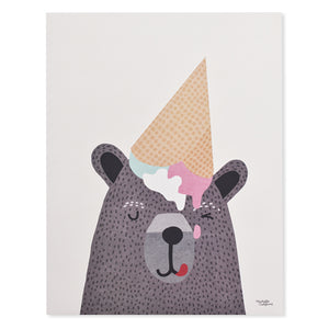 I Love Ice Cream Print
