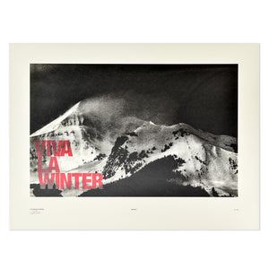 "Big Sky Ski Resort 18"" x 24"" Print"