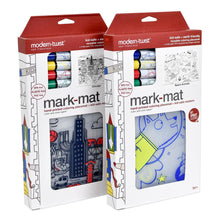 Reusable Coloring Mat With Marker Set