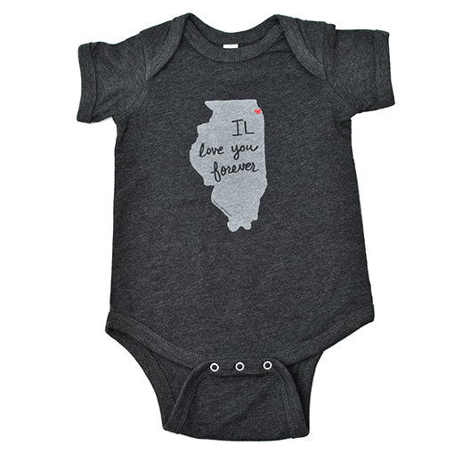 Illinois Love Baby Onepiece
