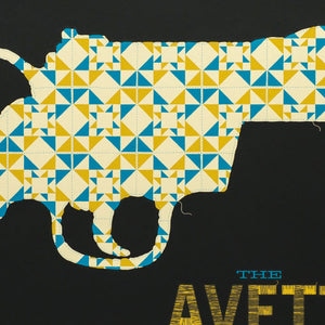 "Avett Brothers Gig Poster 18"" x 24"" Screen Print"