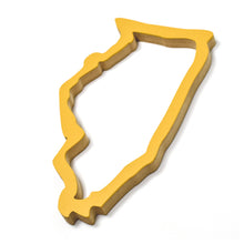 Illinois Wood Outline