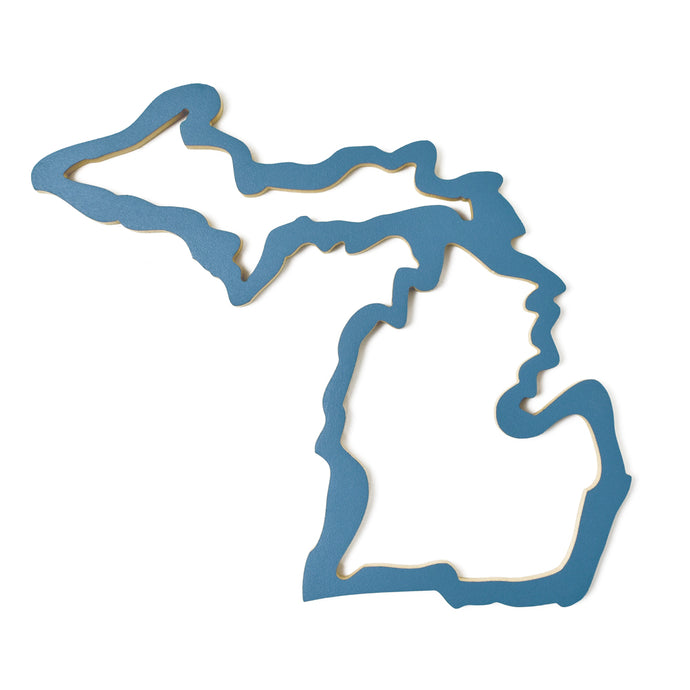 Michigan Wood Outline