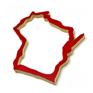 Wisconsin Wood Outline