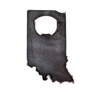 Recycled Steel State Bottle Opener