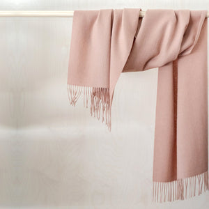 Lambswool Oversized Solid Scarf