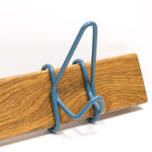 Three Hook Recycled Wood Coat Rack