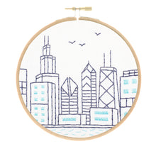 Chicago Skyline Embroidery Kit
