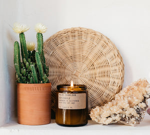 Sunbloom Amber Jar Soy Candle