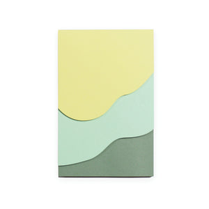 Tapestry Green Jotter Notepad