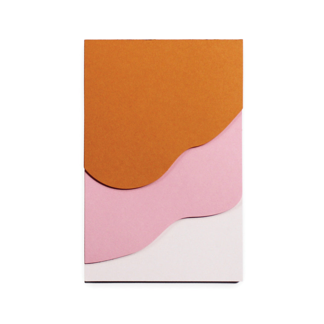 Tapestry Pink Jotter Notepad