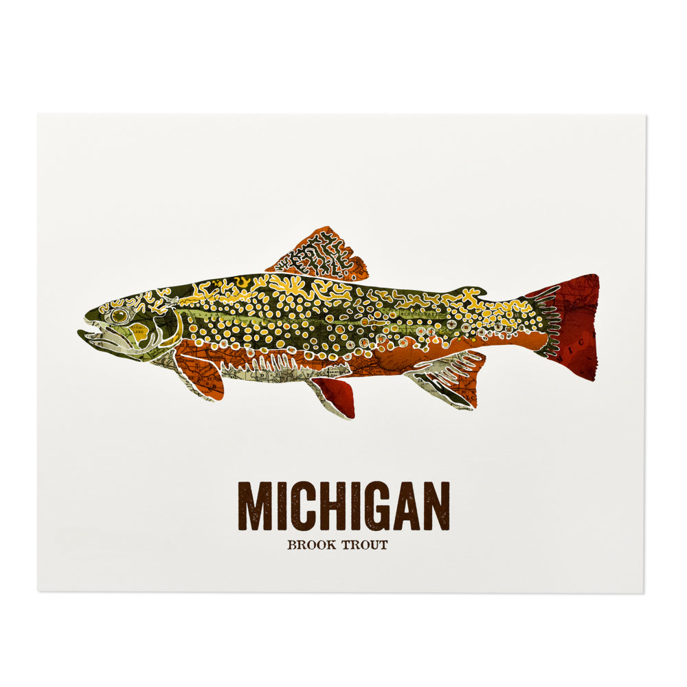 State Fish Map