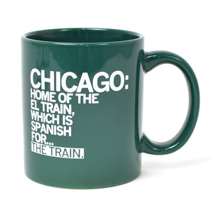 Chicago El Train Mug