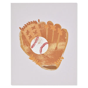 "Catch Baseball 8"" x 10"" Print"