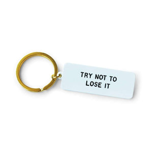 Lose It Keychain