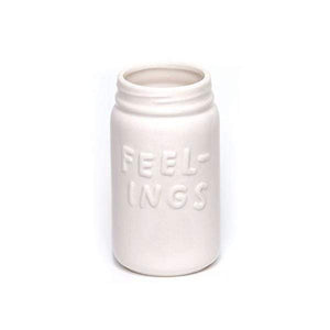 Ceramic Feelings Jar
