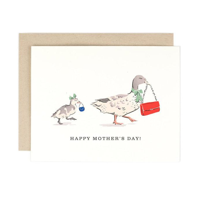 Mother's Day Duckling Card