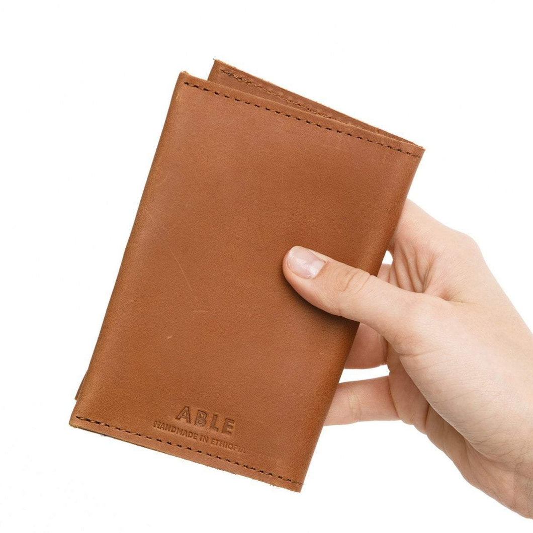 Alem Leather Passport Wallet
