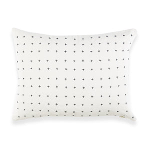 "Bone Cross Stitch 16"" x 12"" Small Toss Pillow"