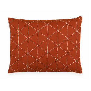 "Graph Stitch 16"" x 12"" Small Toss Pillow"