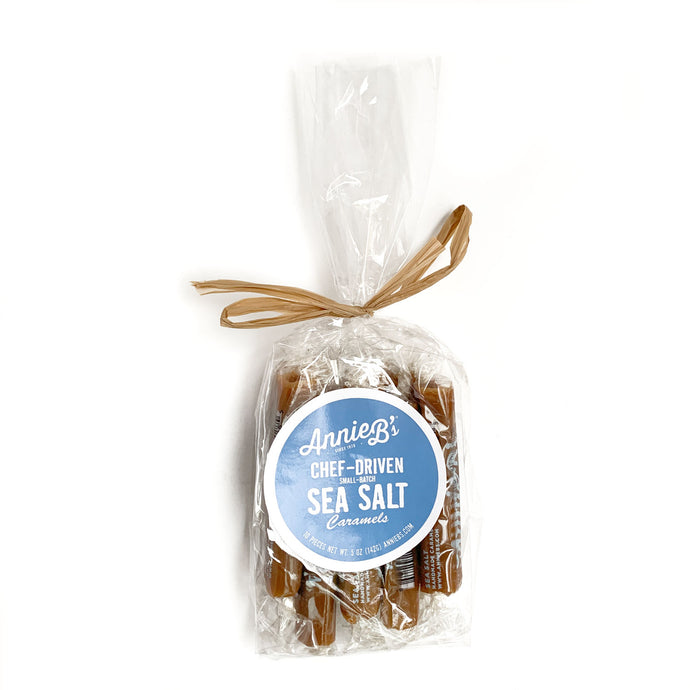 Annie B's Sea Salt Caramels (Bag of 10)