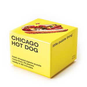Miniature Chicago Hot Dog Jigsaw Puzzle