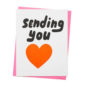 Sending You Love Everyday or Sympathy Card