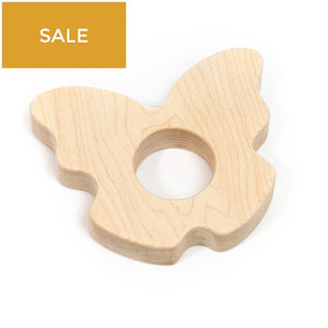 Butterfly Wood Teether