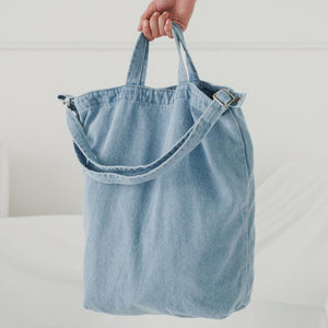 Recycled Cotton Canvas Duck Bag Tote