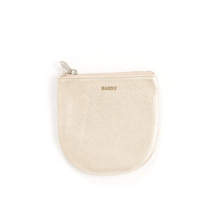 Leather U-Shaped Pouch