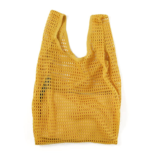 Netted Tote Bag and Canvas Pouch