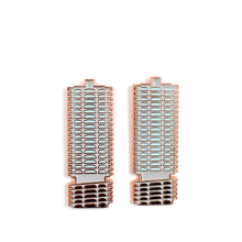 Marina Towers Enamel Pin