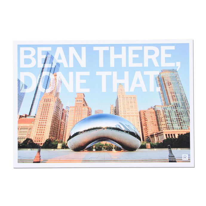 Bean There Done That Photo Postcard