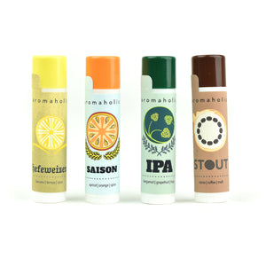 Craft Beer-Inspired Lip Balms (Set of 4)