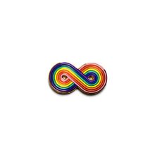 Forever Gay Rainbow Enamel Pin