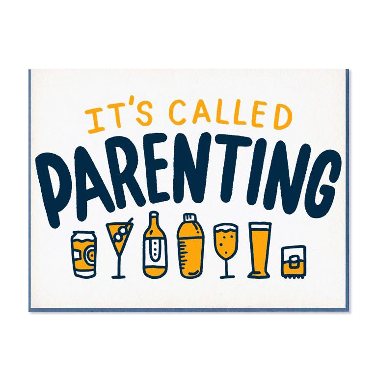 Boozy Parenting New Baby Card