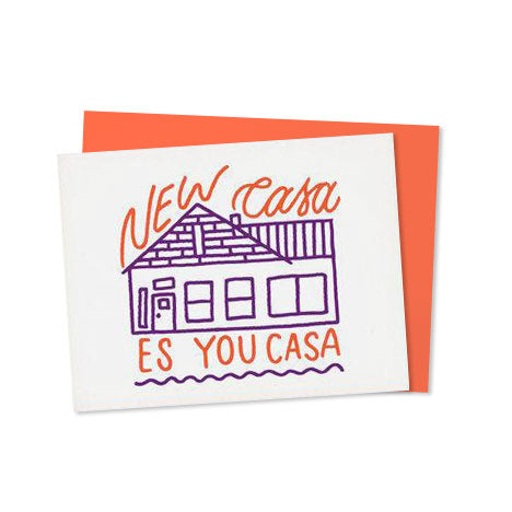 New Casa Housewarming Card