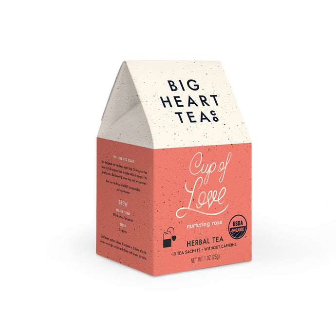 Cup of Love Biodegradable Tea Bags (10 Ct.)