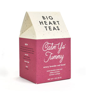 Lavender & Fennel Calm Your Tummy Loose Leaf Tea