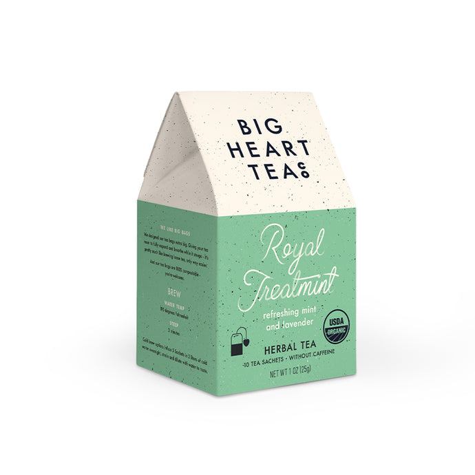 Royal Treatmint Mint & Lavender Biodegradable Tea Bags (10 Ct.)