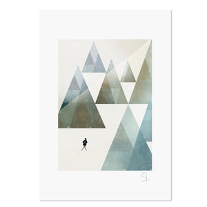 "The Adventurous 8.25"" x 11.75"" Archival Print"