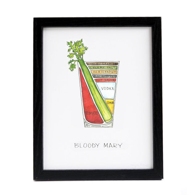 Bloody Mary Cocktail Diagram 8.5