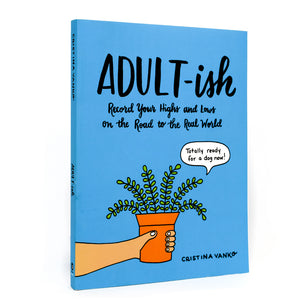 Adult-ish: Record Your Highs and Lows Book
