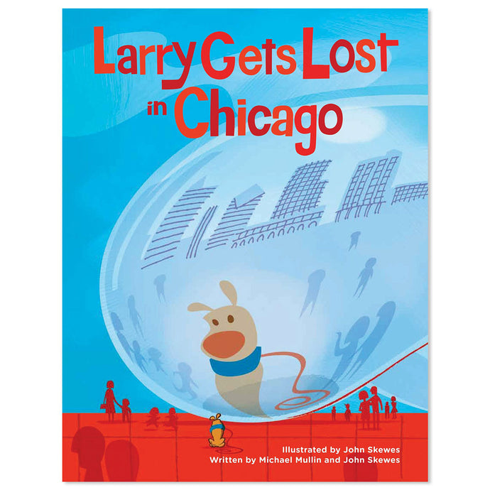 Larry Gets Lost in Chicago Book