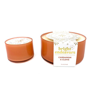 Bright Glass Soy Candle