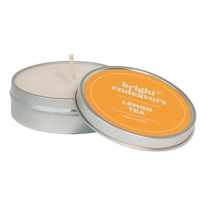 Soy Wax Scented Candle Tin
