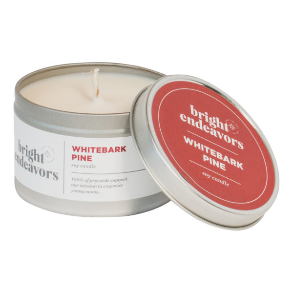Holiday Tin Soy Candle