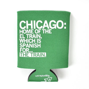 Chicago El Train Can Cooler